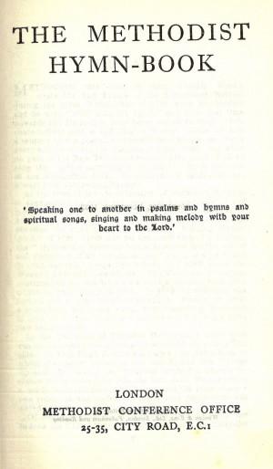 MethodistHymnbook1933